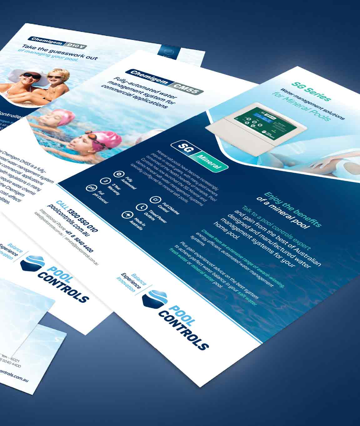 Flyer design for Pool Controls in Balcatta | Perth