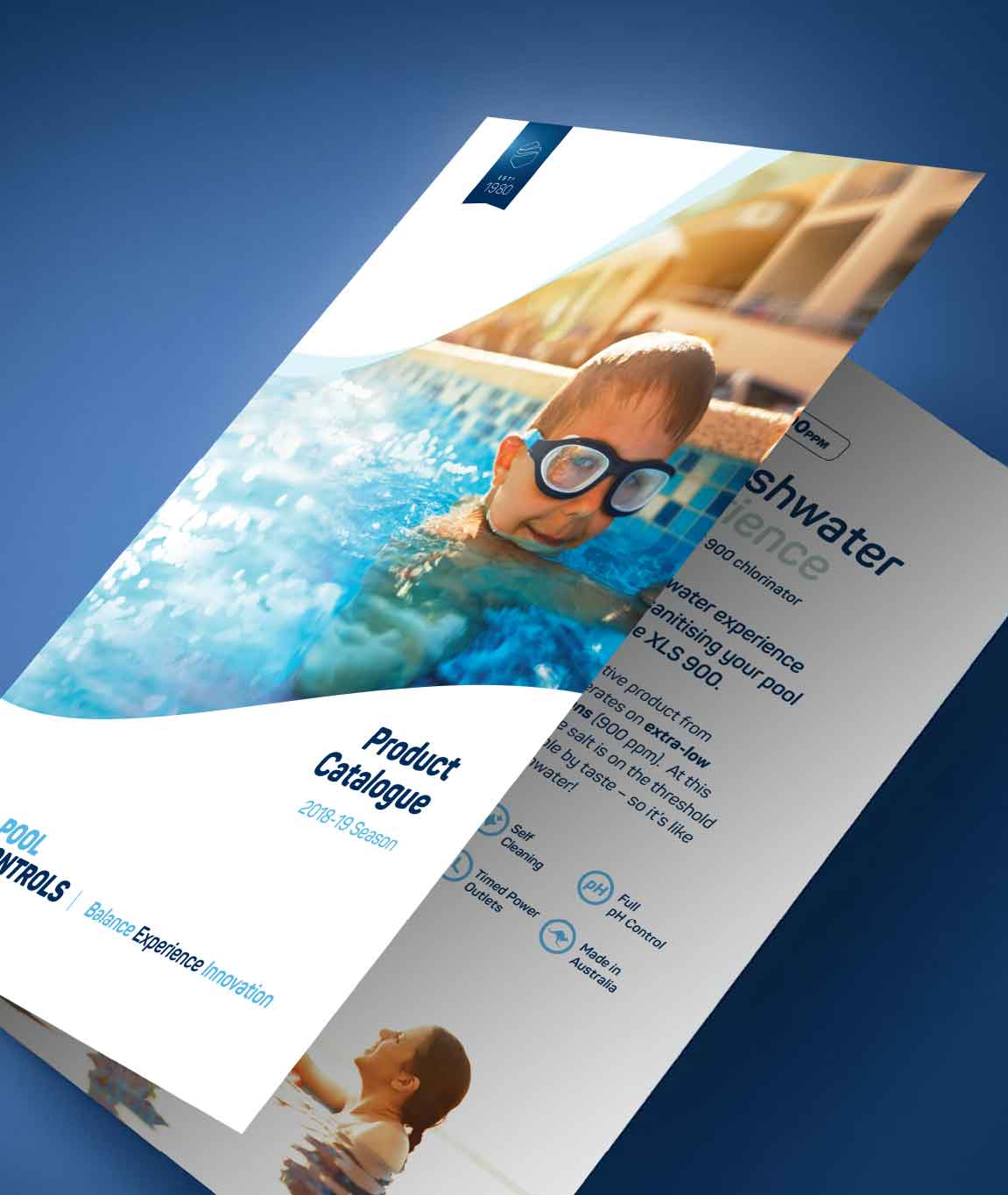 Brochure design for Pool Controls in Balcatta | Perth