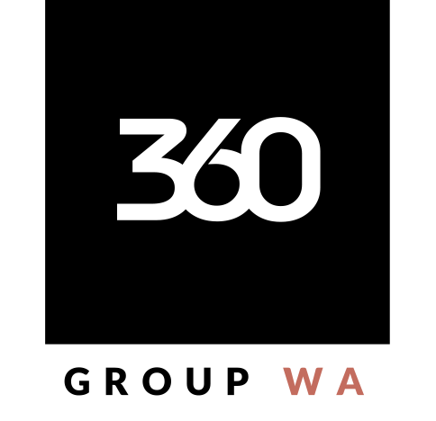 Logo design for 360 Group Builders in Perth