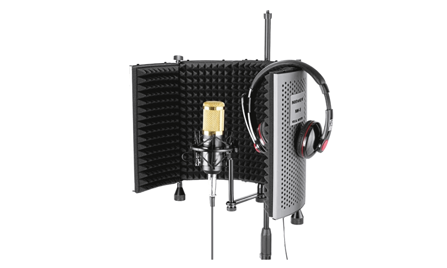 Miniature Professional Recording Booth