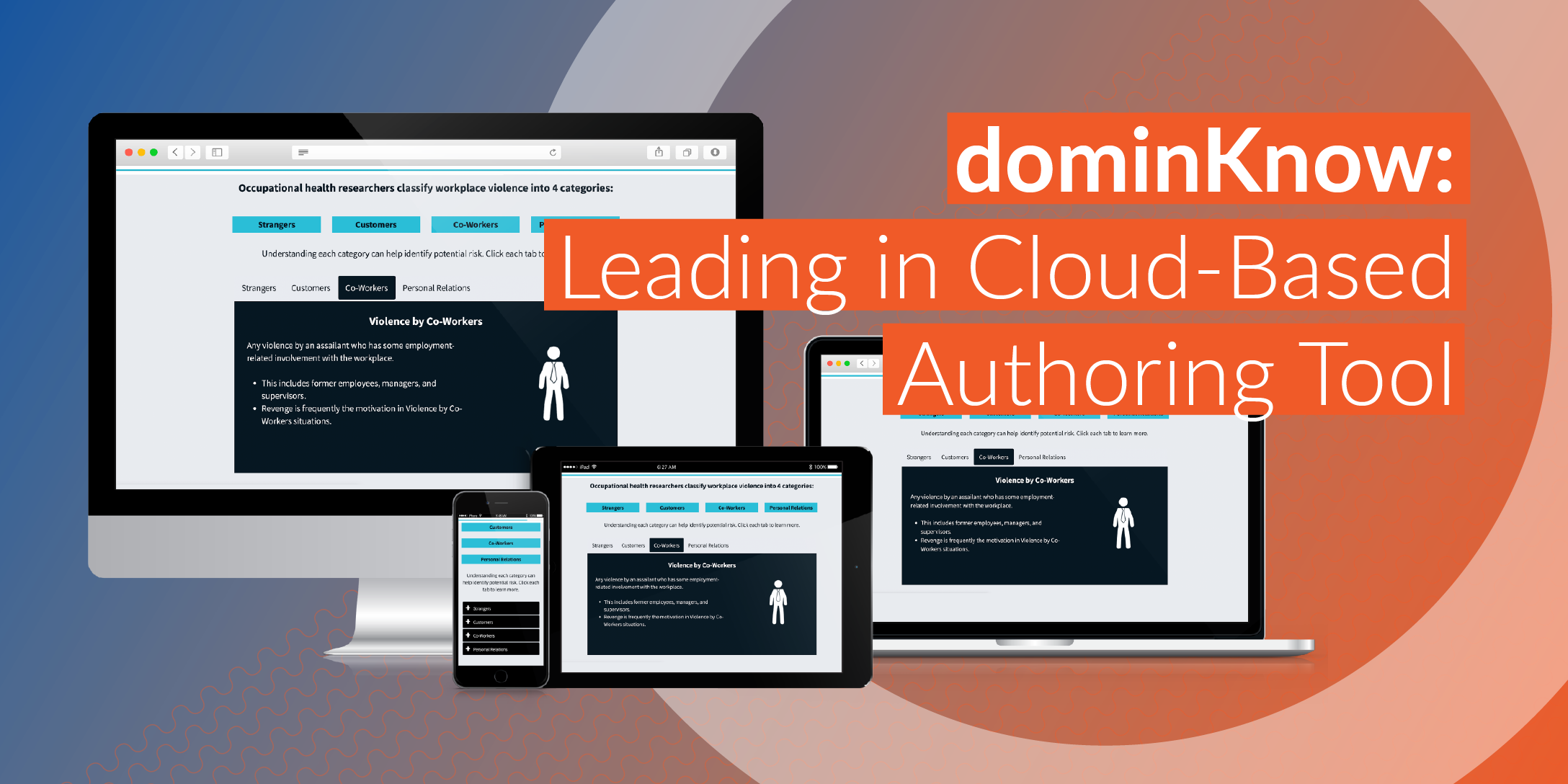 dominKnow: Leading in Cloud-Based Authoring Tool