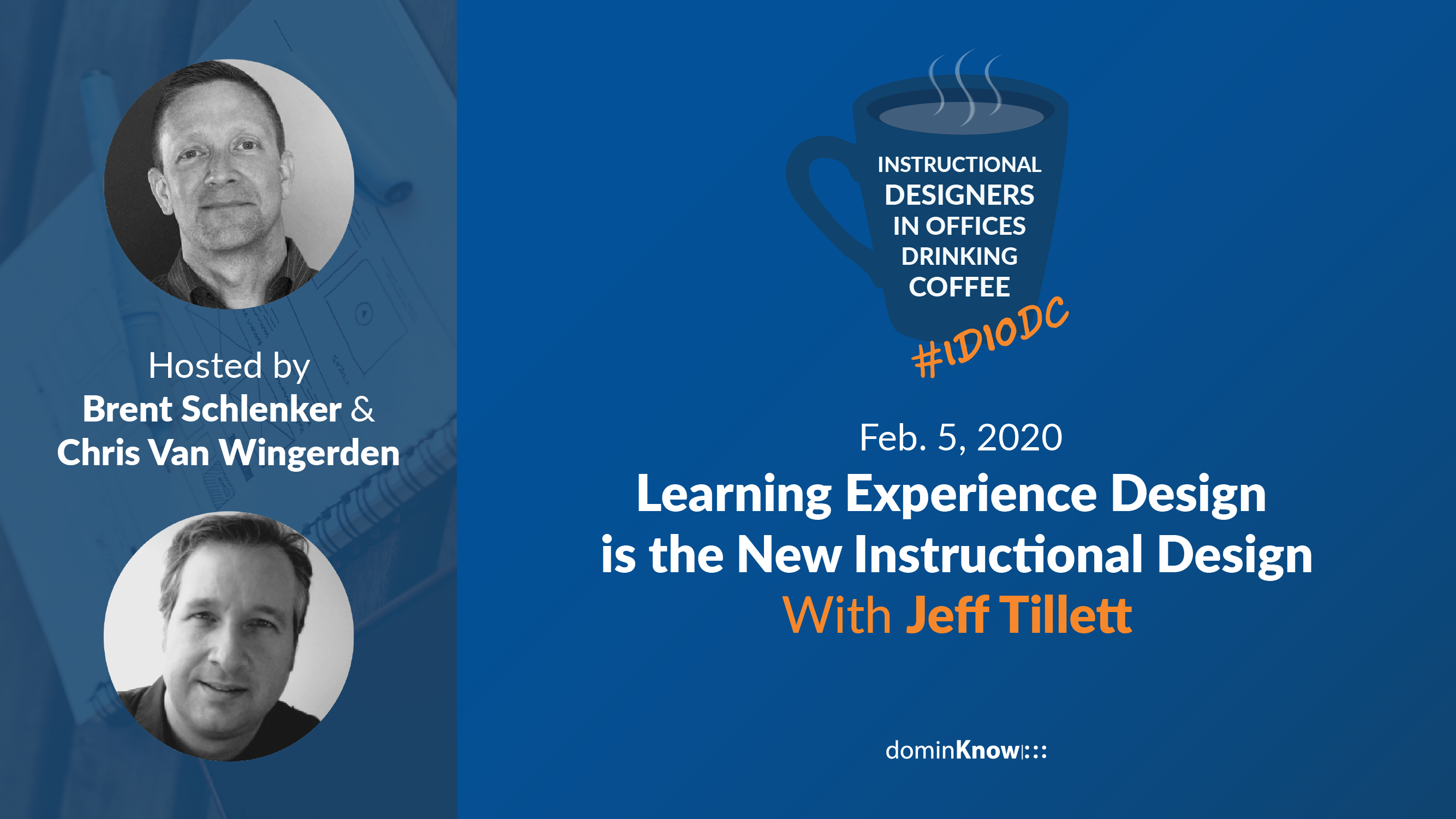 Jeff Tillett talks with Brent and Chris about the evolution of the term Instructional Designer
