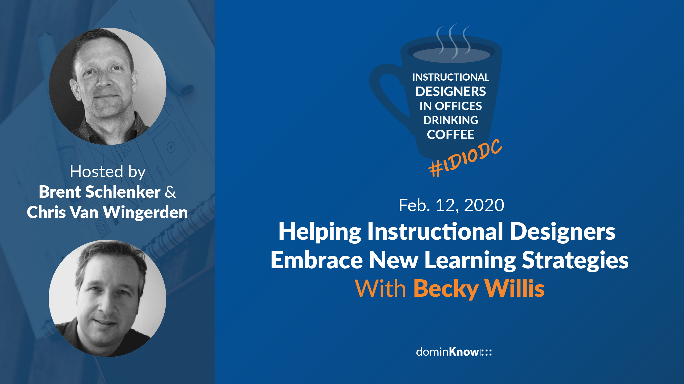 Brent and Chris talk with new special guest Becky Willis for a conversation about embracing change in L&D