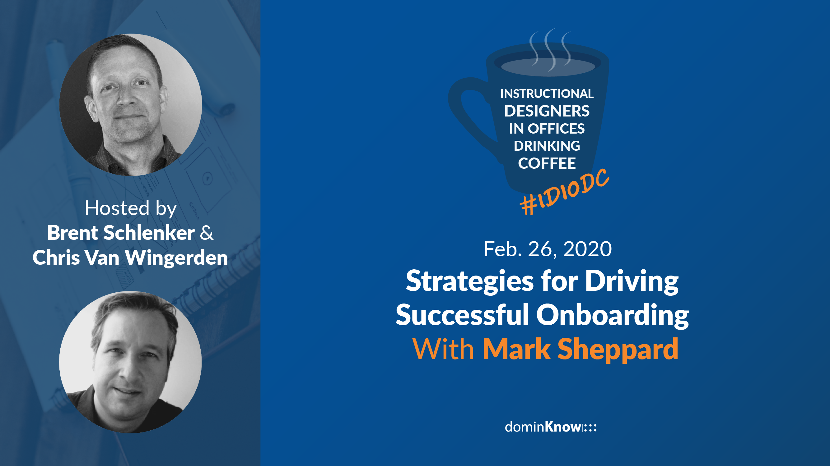 Mark Sheppard talks with Brent and Chris about creating onboarding that lasts!