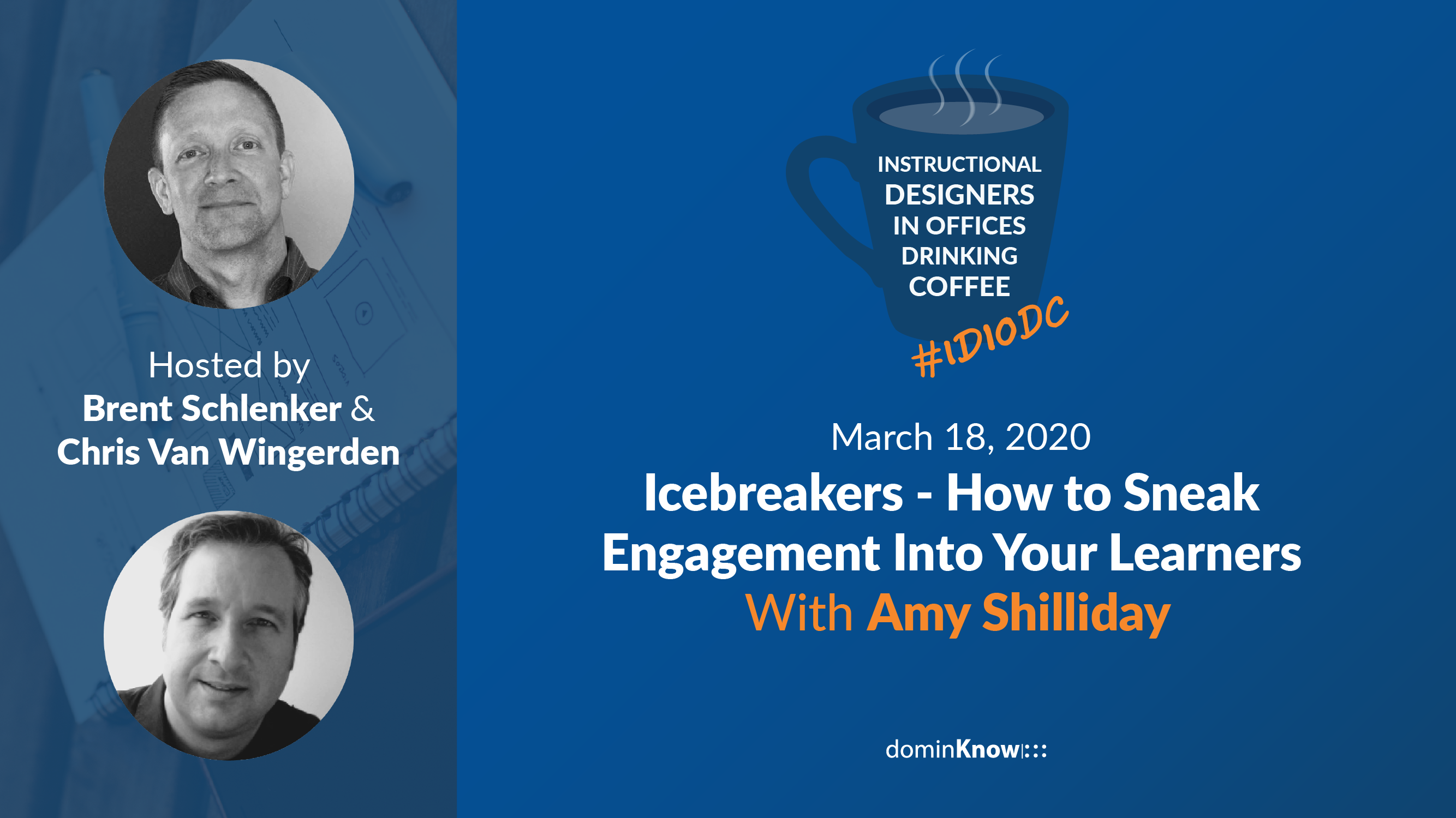 Amy Shilliday joins Brent and Chris for a conversation all about improving learner engagement through icebreaker acvities!