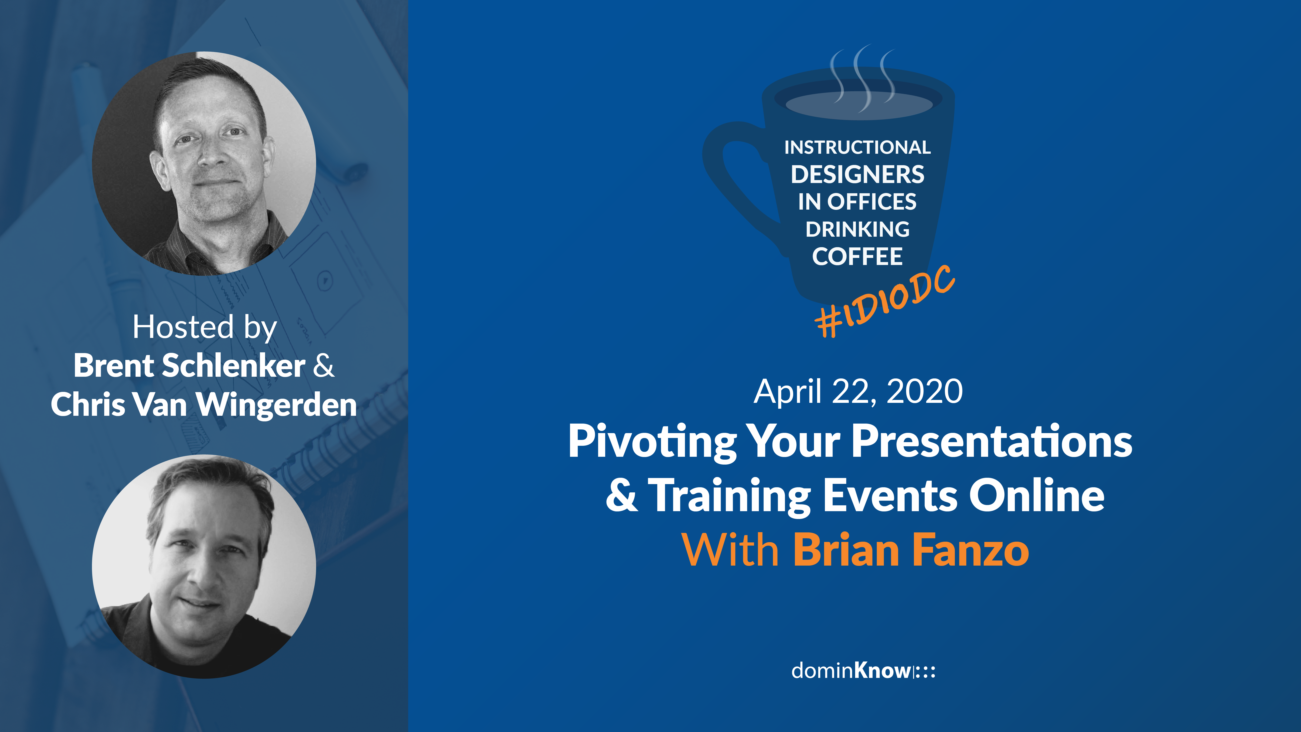 Brian Fanzo joins us for an informative session about making the switch to online trianing