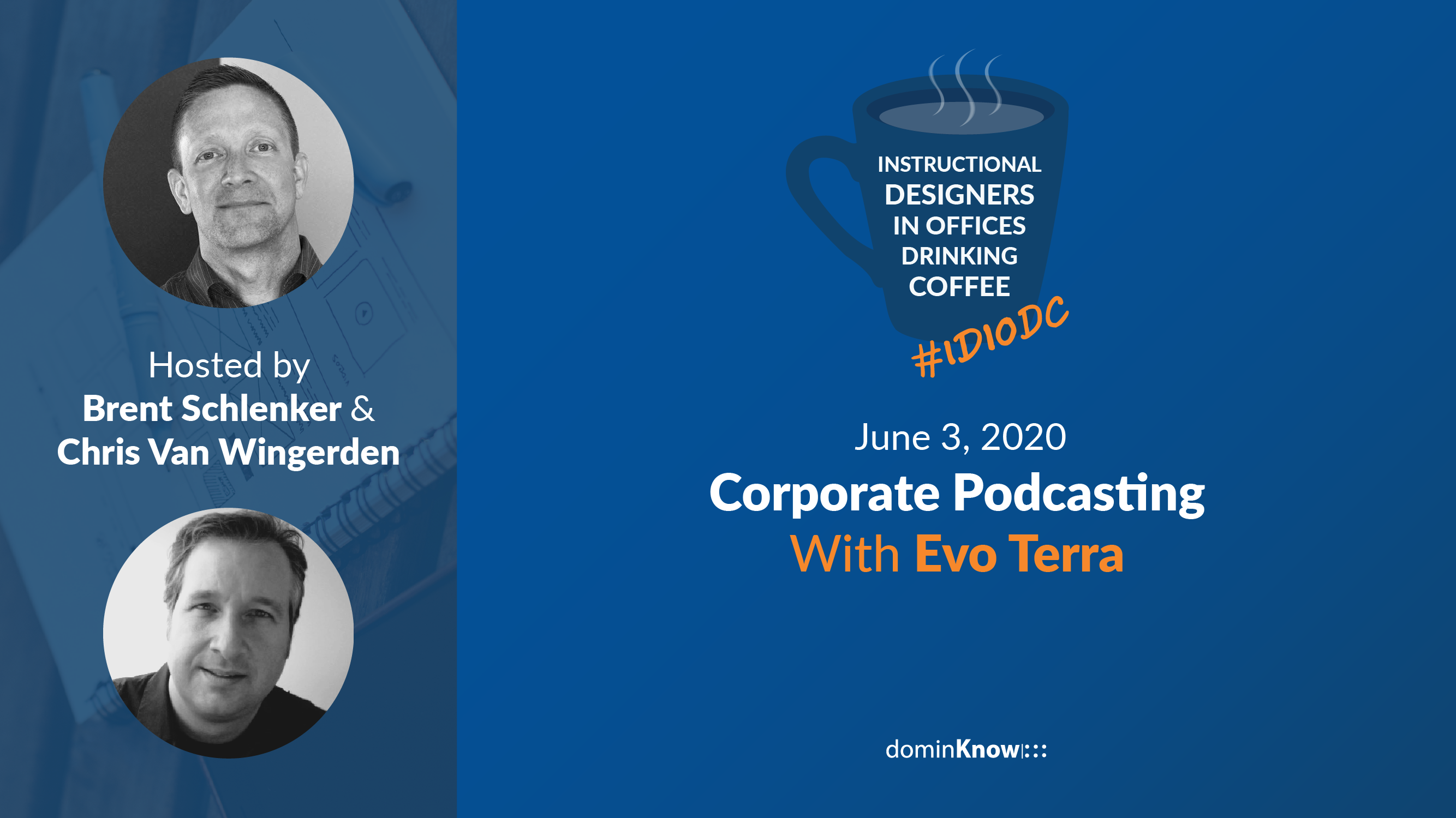 Master of podcasting Evo Terra joins us on the show to talk about corporate podcasting, and how you can introduce it into your L&D.
