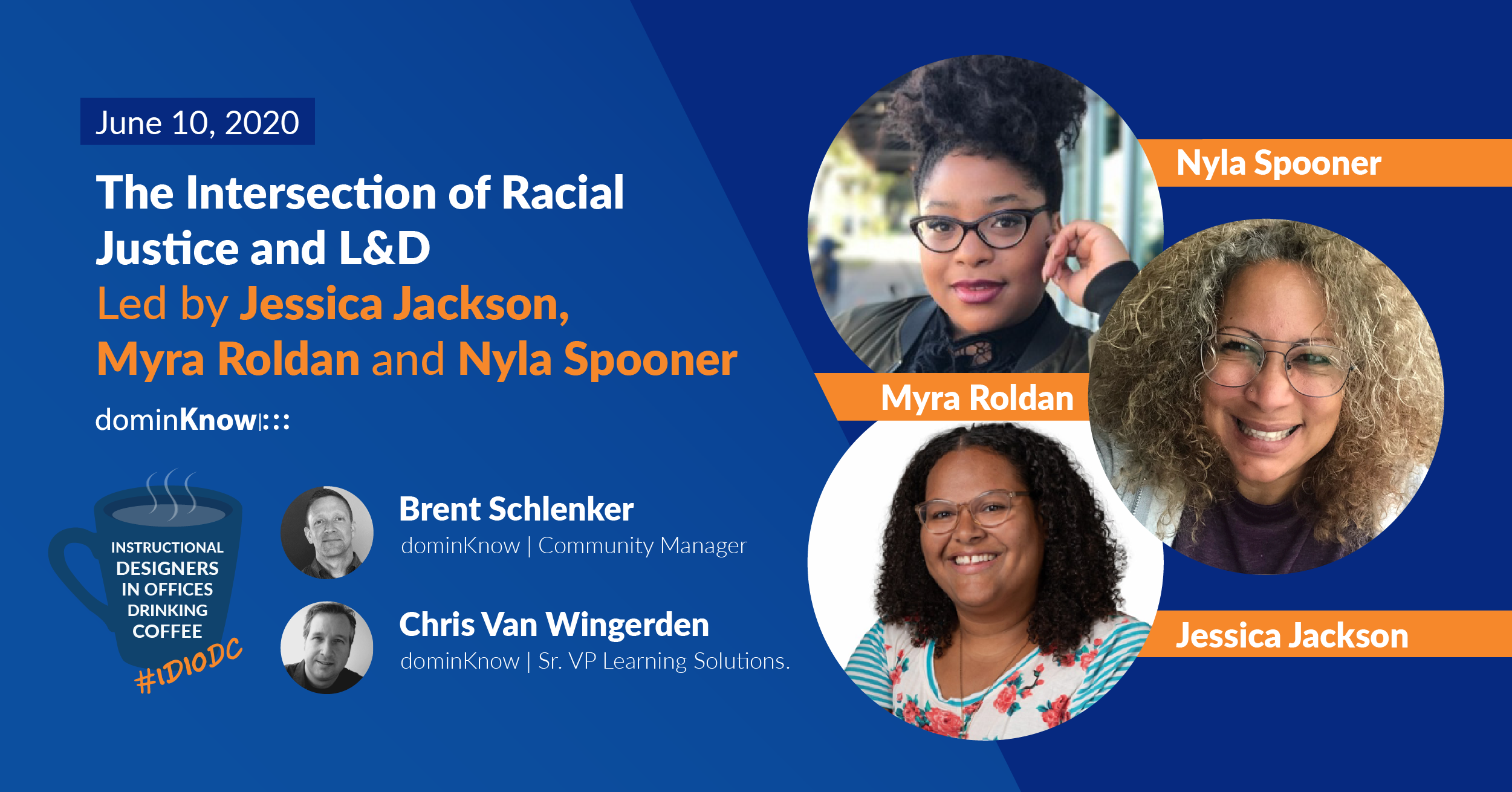 we invite black voices to share their experiences in the L&D field and the ways they are using and asking you to use resources to respond to racial injustice.
