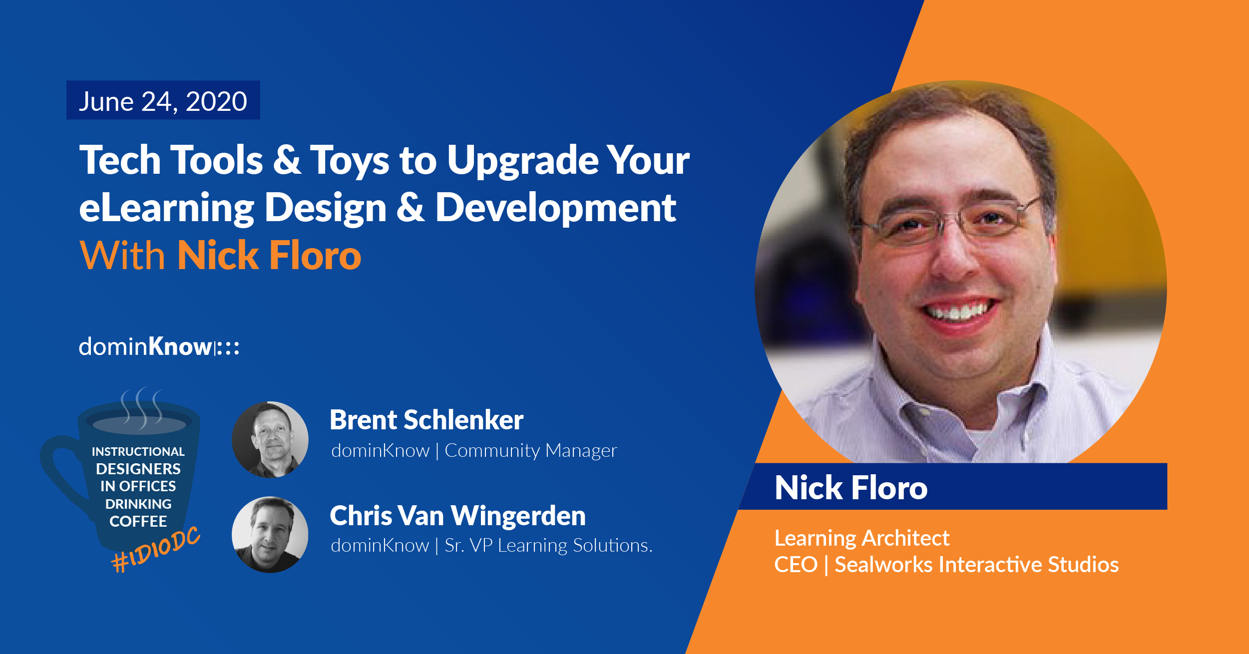 Tech Tools & Toys to Upgrade Your eLearning Design & Development With Nick Floro