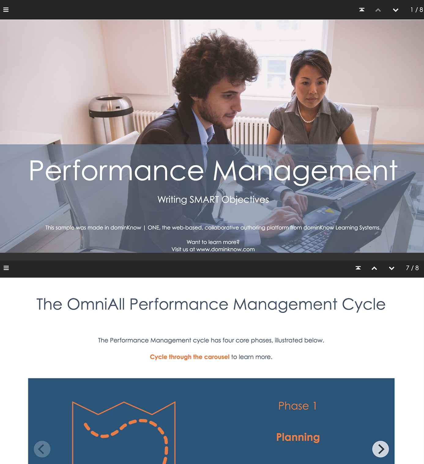 Performance Management – Writing SMART Objectives screenshots