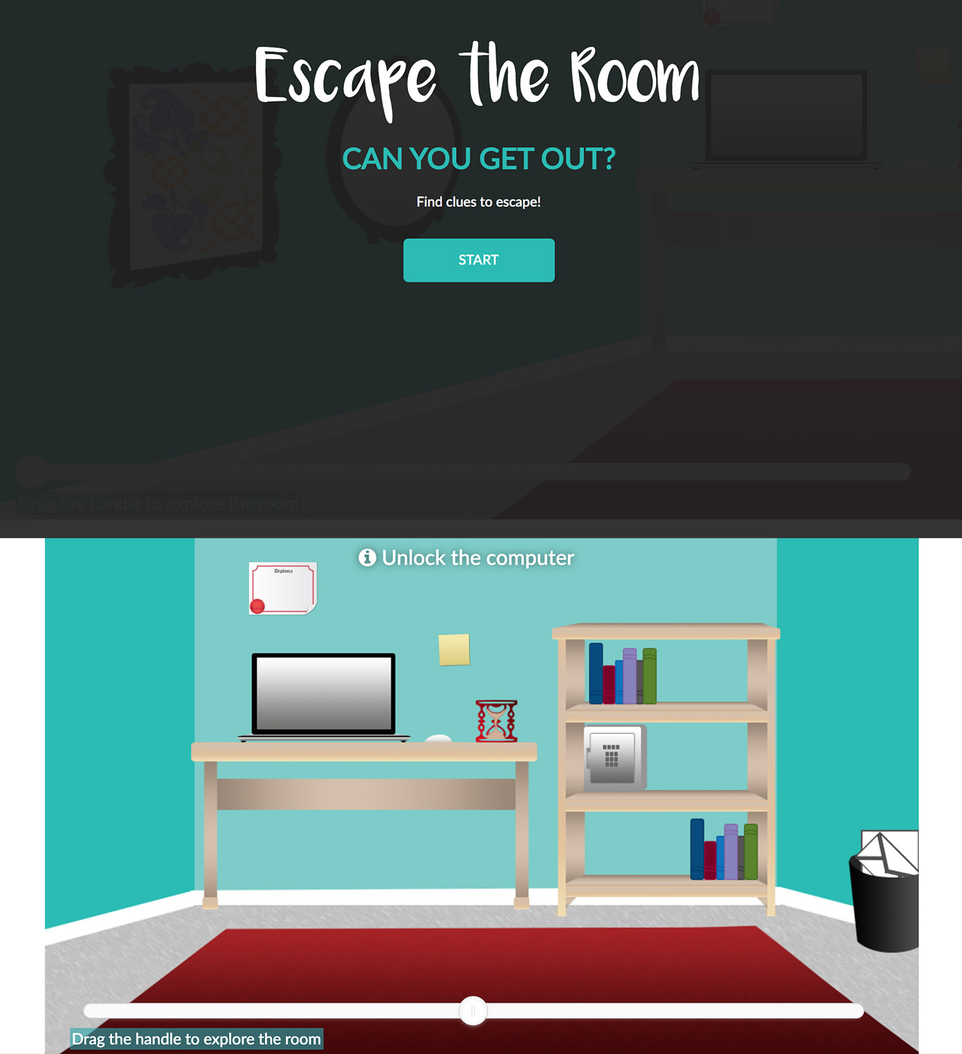 Escape the Room screenshots