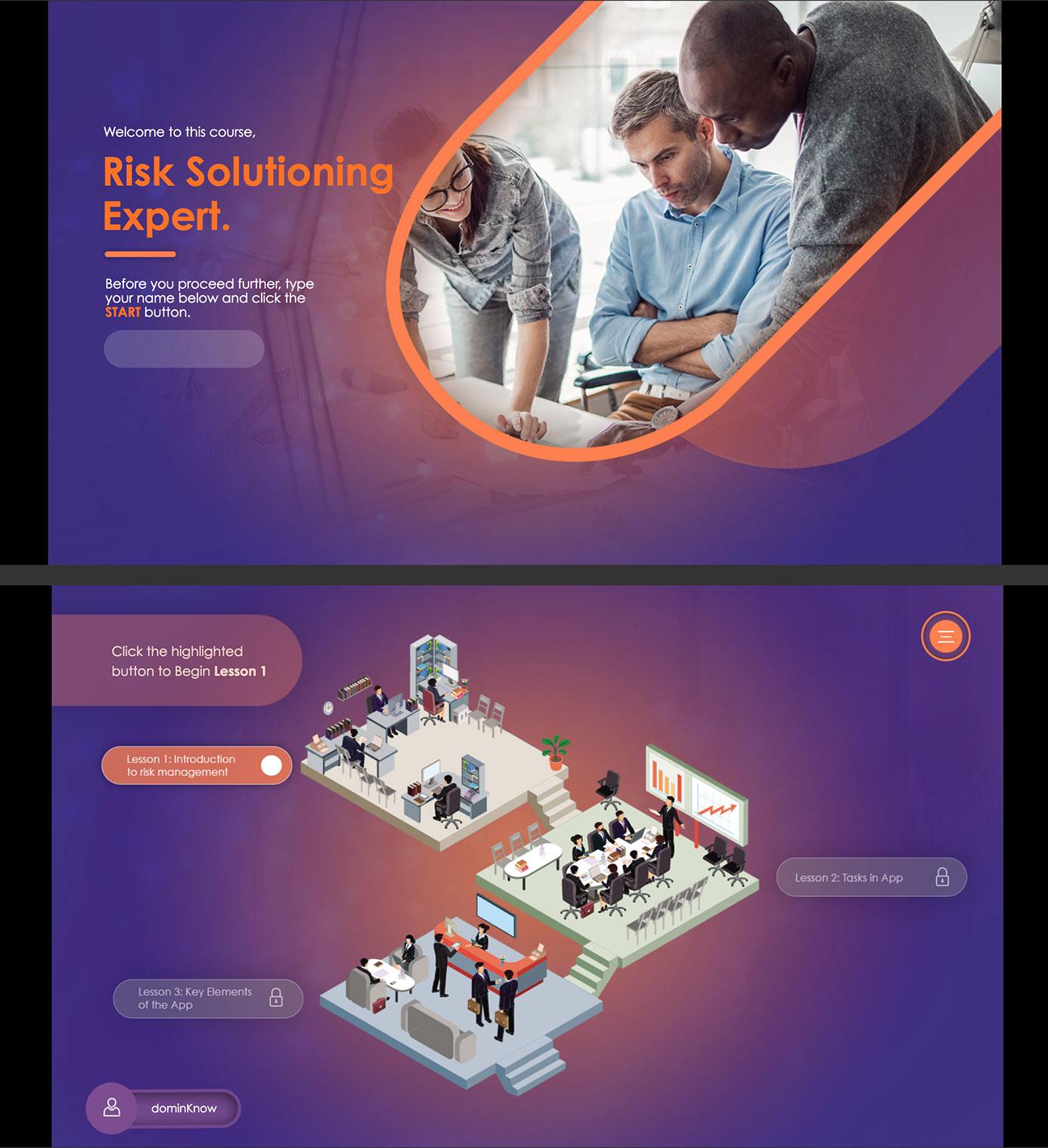 Risk Solutioning Expert screenshot
