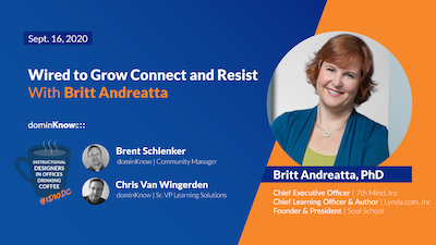 Wired to Grow Connect and Resist with Britt Andreatta, PhD