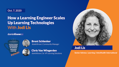 How a Learning Engineer Scales Up Learning Technologies with Jodi Lis