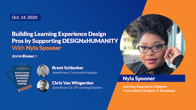 Building Learning Experience Design Pros by Supporting DESIGNxHUMANITY with Nyla Spooner
