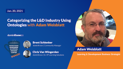 Categorizing the L&D Industry Using Ontologies with Adam Weisblatt
