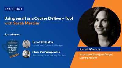 Using email as a course delivery tool with Sarah Mercier