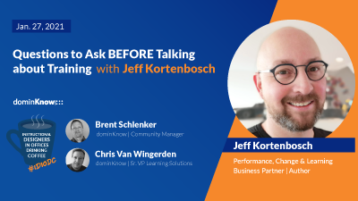 Questions to Ask BEFORE Talking about Training with Jeff Kortenbosch