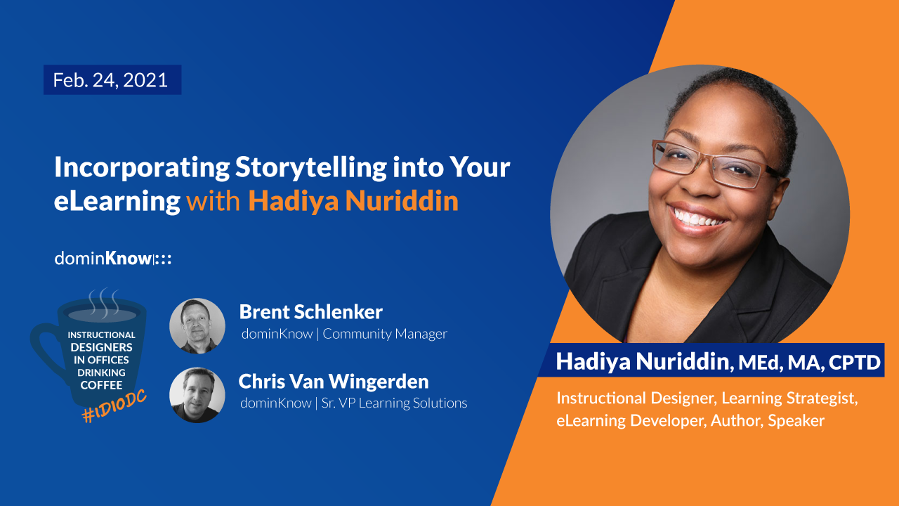 Incorporating Storytelling into Your eLearning with Hadiya Nuriddin