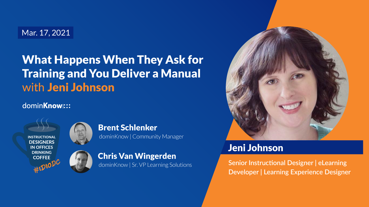 What Happens When They Ask for Training and You Deliver a Manual with Jeni Johnson