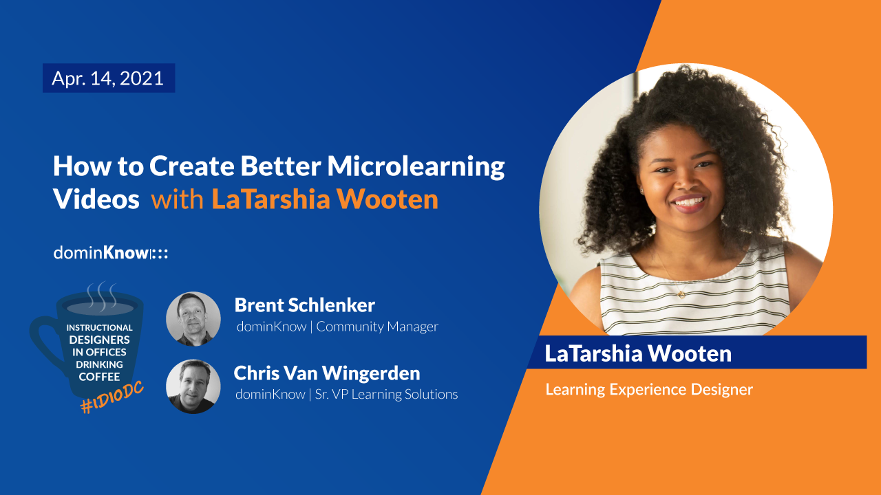 How to Create Better MicroLearning Videos with LaTashia Wooten