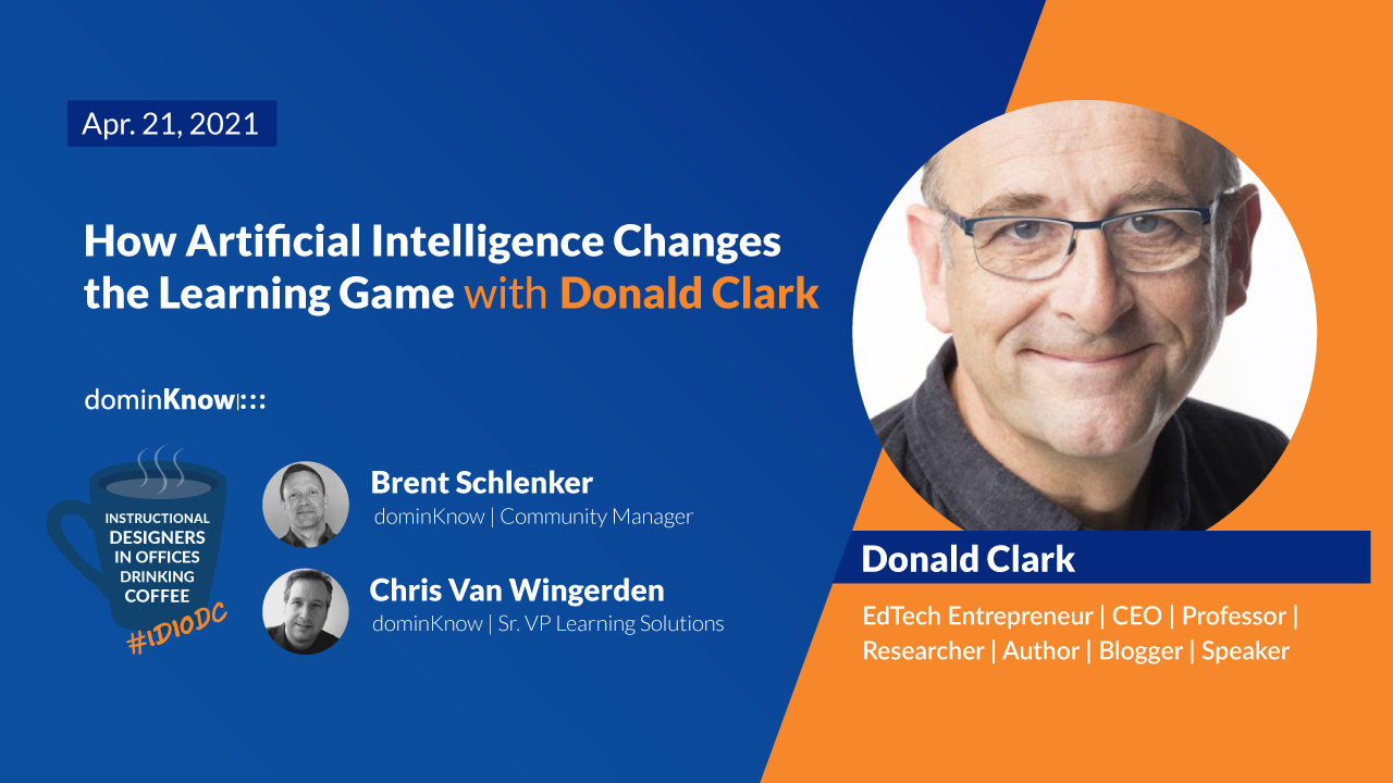 How Artificial Intelligence Changes the Learning Game with Donald Clark