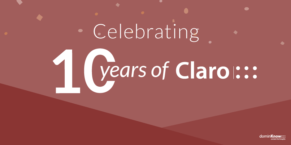 Celebrating 10 years of Claro!