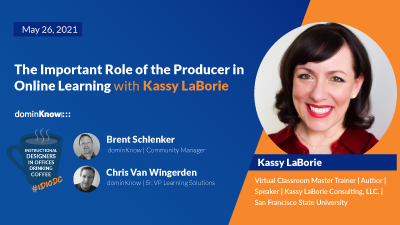 The Role of the Online Learning Producer with Kassy LaBorie