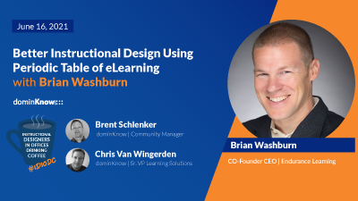 Better Instructional Design Using Periodic Table of eLearning with Brian Washburn