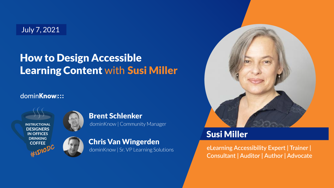 How to Design Accessible Learning Content with Susi Miller