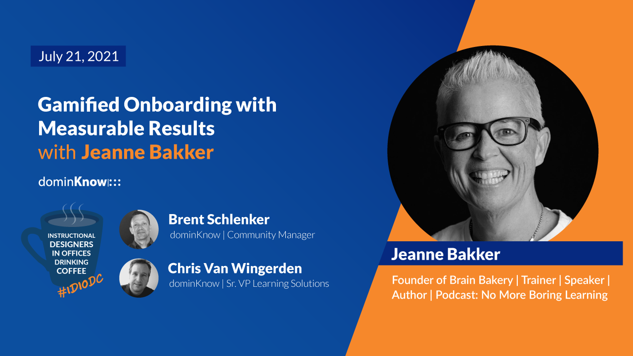 Gamified Onboarding with Measurable Results with Jeanne Bakker