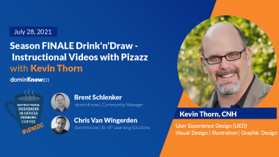 Season FINALE Drink'n'Draw - Instructional Videos with Pizazz with Kevin Thorn
