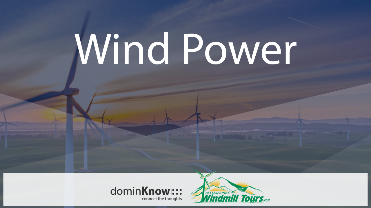 eLearning Infographic sample: A Brief History of Wind Power