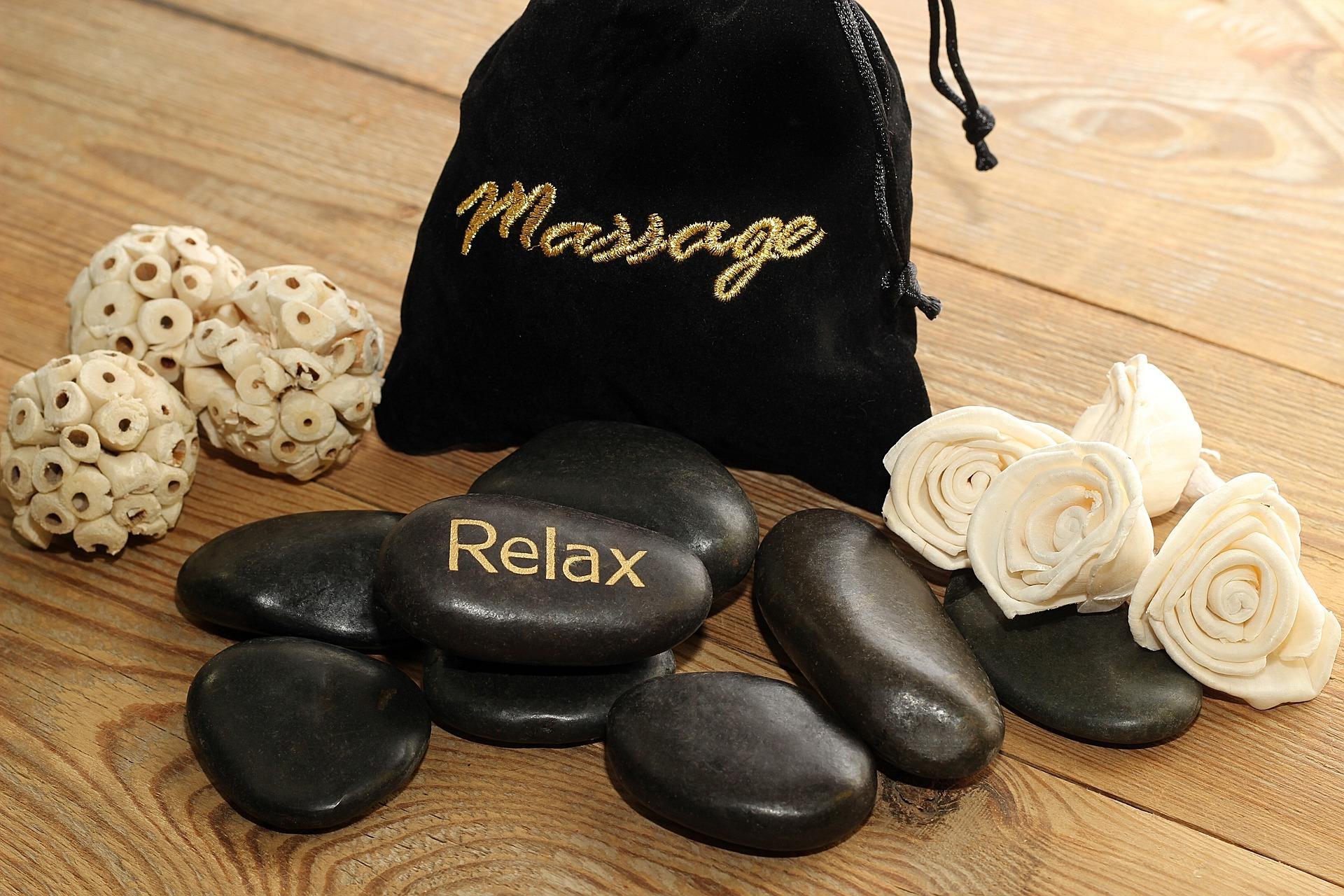 Batu sungai untuk massage WWSpa Jakarta