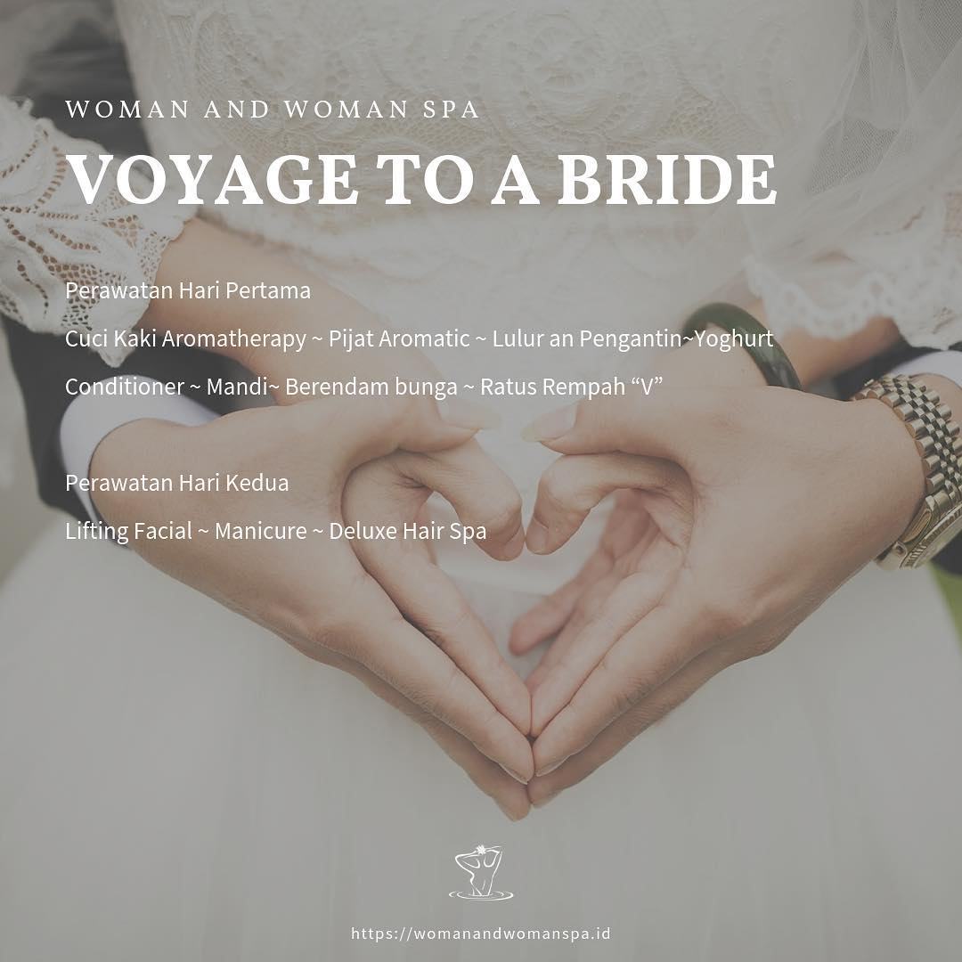 Spa lengkap untuk pre wedding