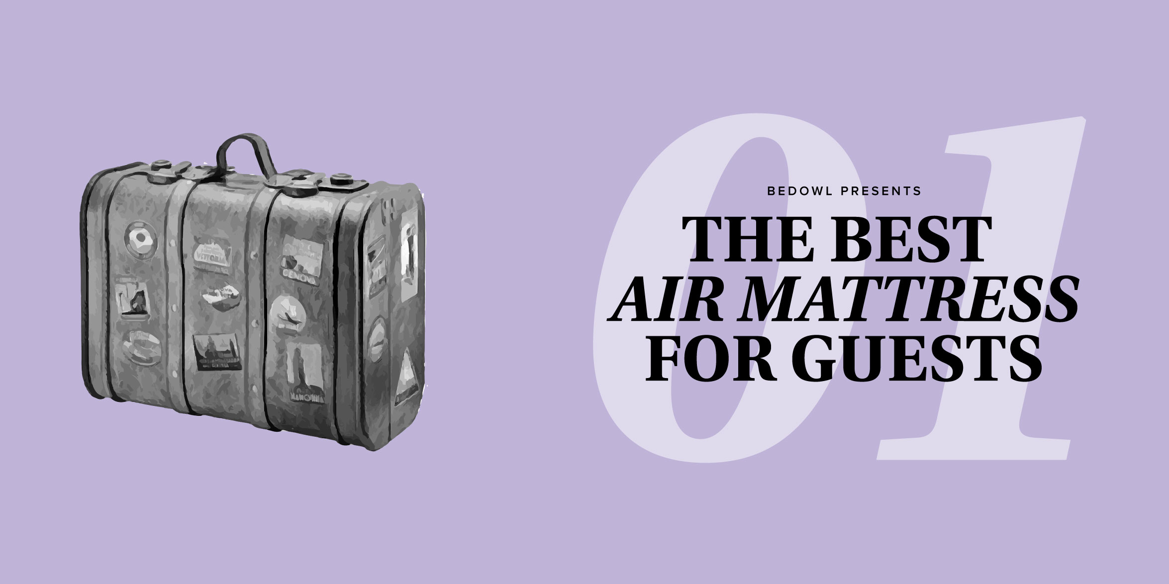 The Best Air Mattresses for Guests by Bedowl