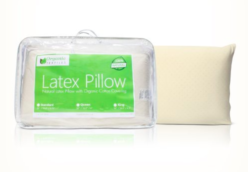 All Natural Premium Latex Pillow With Organic Covering