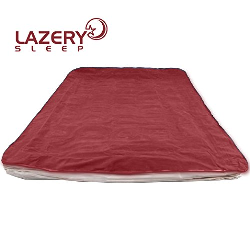 Lazery Air Mattress Deflated and Rolled Out