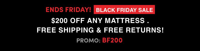 Amerisleep Black Friday Deal Website Banner