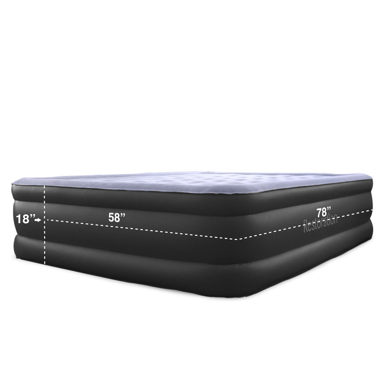 Sleep Restoration Air Mattress Dimensions