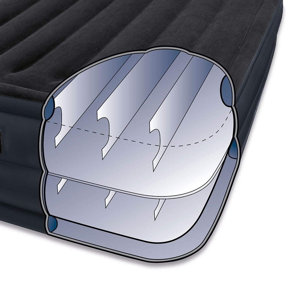 Intex Raised Downy Air Mattress Diagram