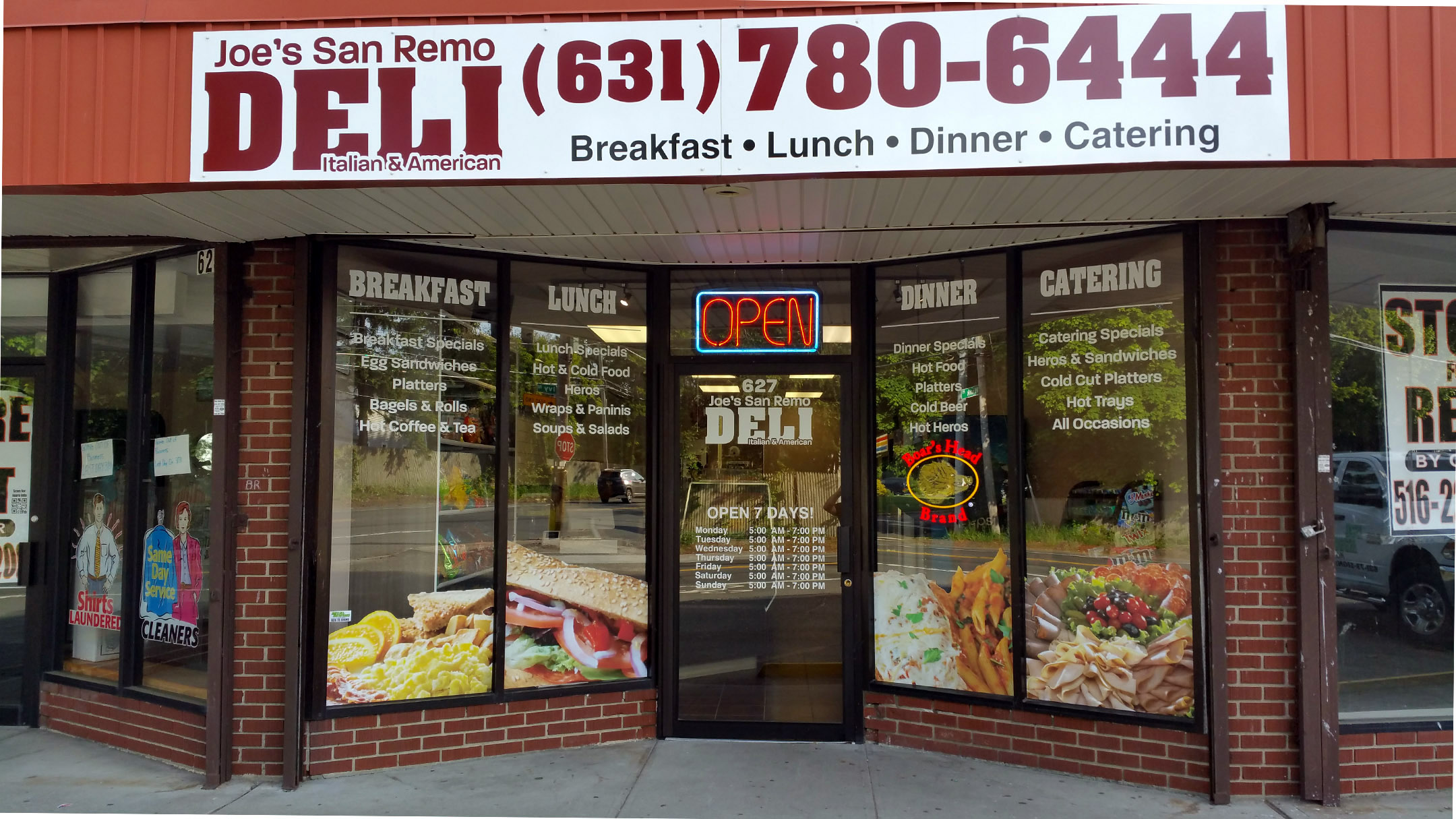 Building Sign & Window Graphics