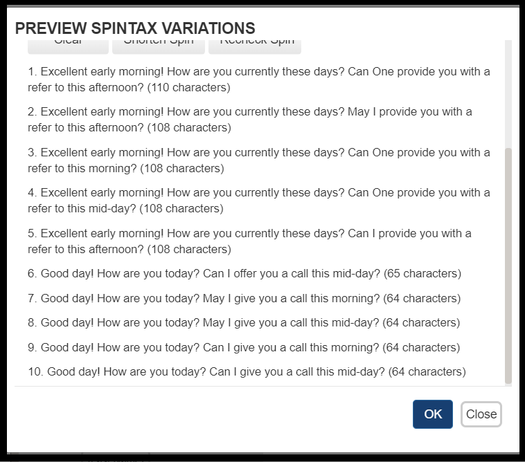 Preview SpinTax Example 1