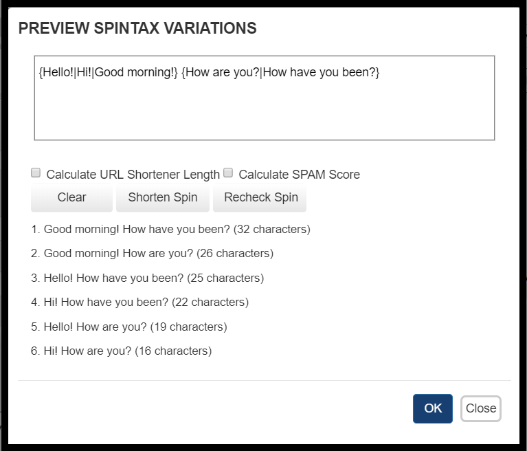 Preview SpinTax Example 4