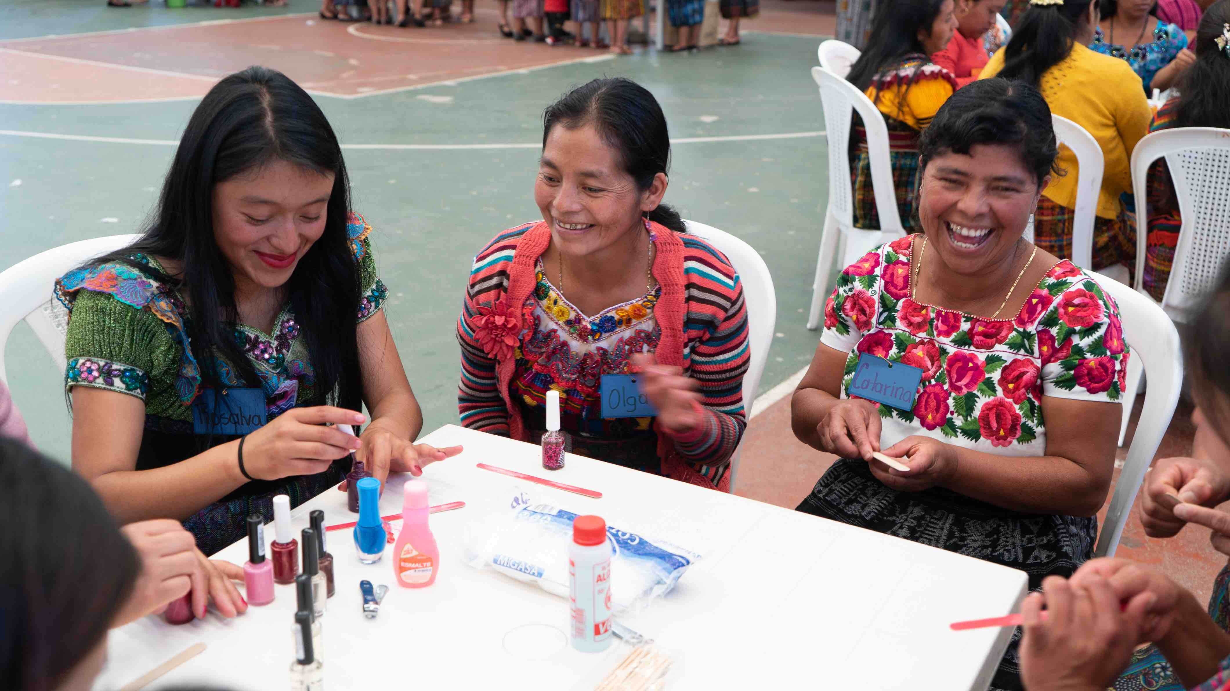 women-painting-nails