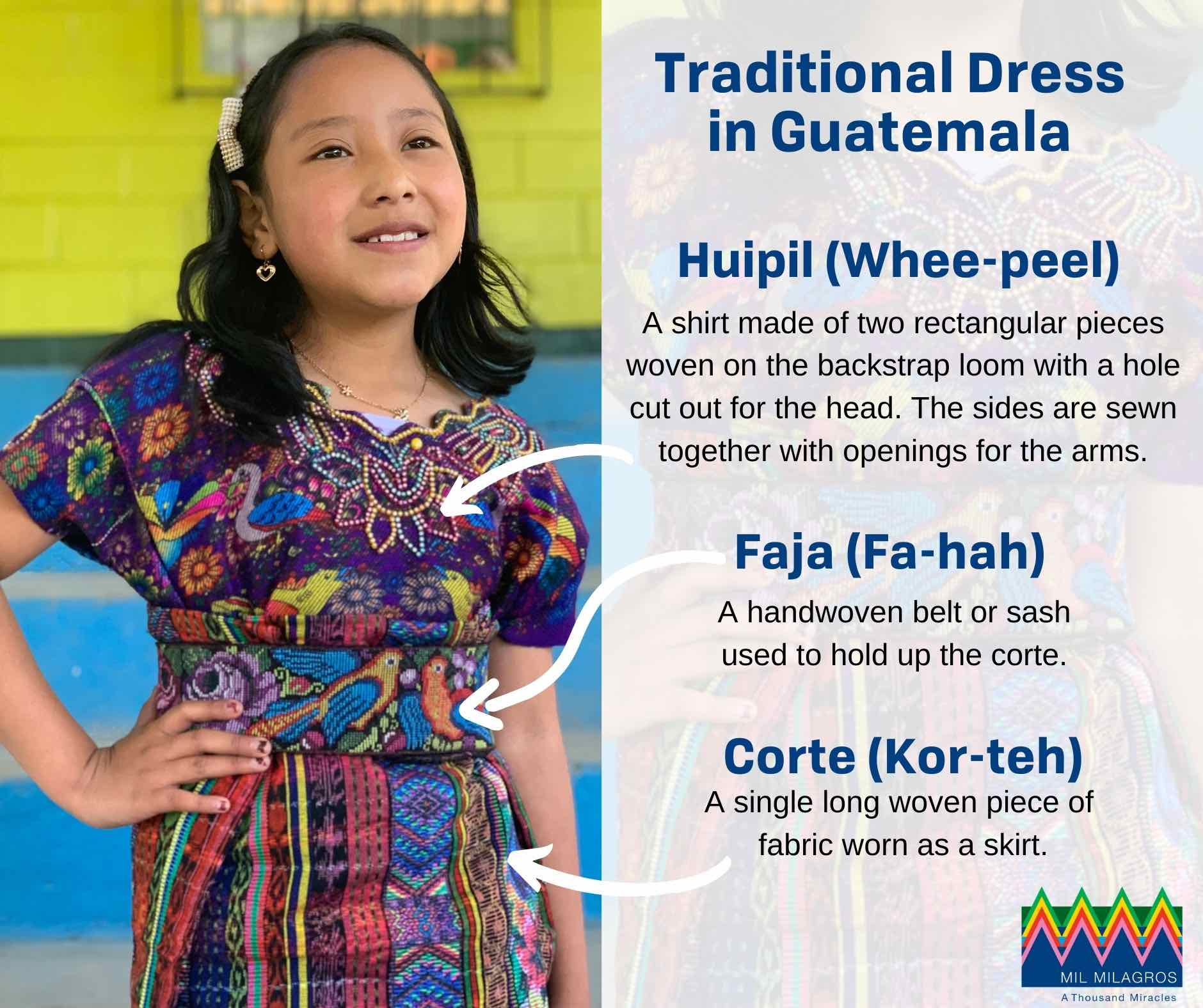 Traditional dress in Guatemala