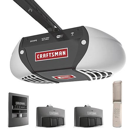 3/4 HP Smart Garage Door Opener