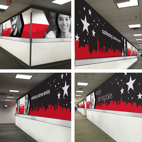 Macys supergraphics