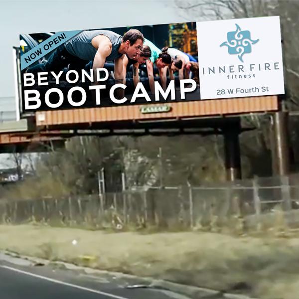 Inner Fire Fitness billboard
