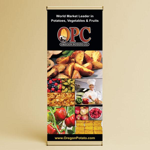 OPC trade show banner